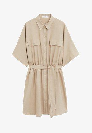 TANITA - Shirt dress - mittelbraun