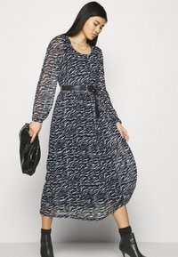 Freequent - Day dress - black mix - 3