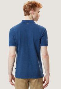 Napapijri - ELBAS - Polo shirt - dark denim - 2