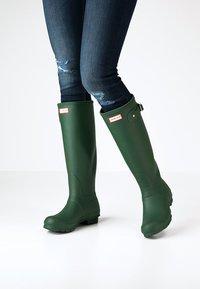 Hunter ORIGINAL - ORIGINAL TALL VEGAN - Wellies - Wellies - green - 0