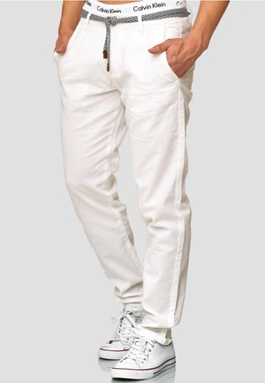 HAVER - Trousers - offwhite
