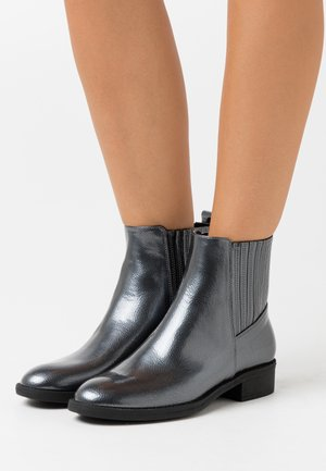 Bottines - gunmetal