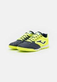Joma - LIGA 5 - Indoor football boots - yellow/black - 1