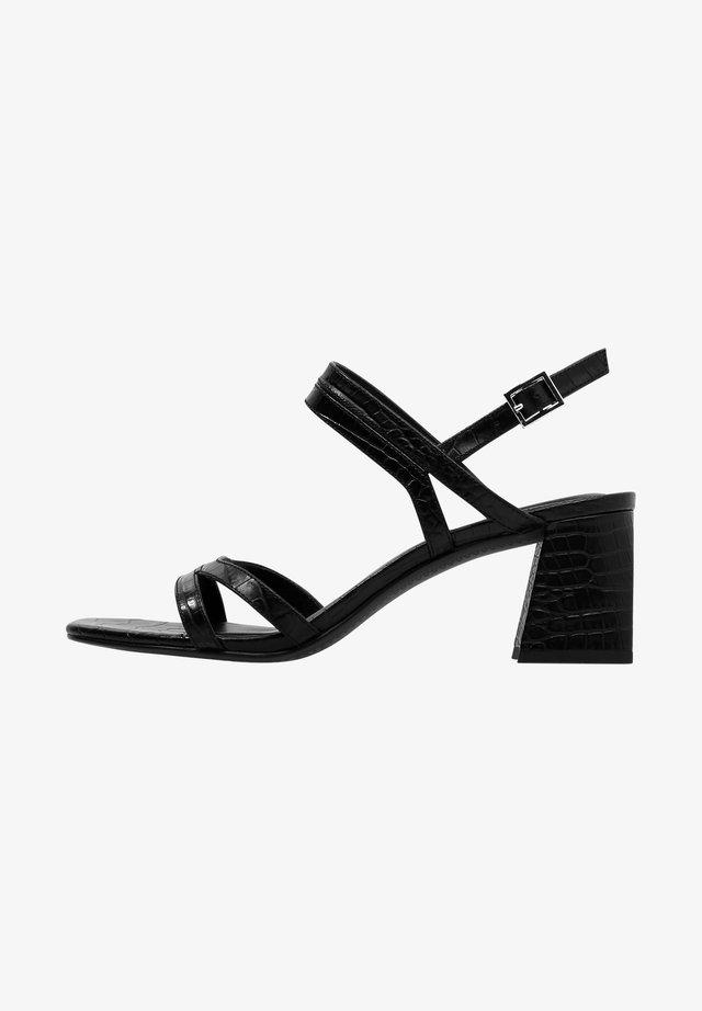 EMMA - Sandalen met hoge hak - black