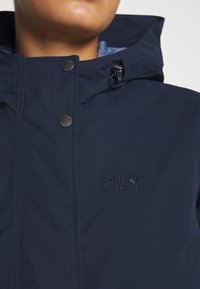 Jack Wolfskin - LAKE LOUISE JACKET - Parka - midnight blue - 5