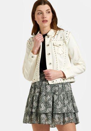 KACY JACKET - Denim jacket - white