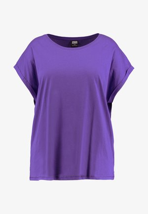 LADIES EXTENDED SHOULDER TEE - Basic T-shirt - ultraviolet