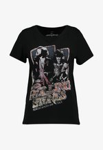 ONLROLLING - T-shirt imprimé - black
