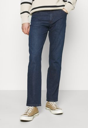 TEXAS - Straight leg jeans - blue denim/dark blue