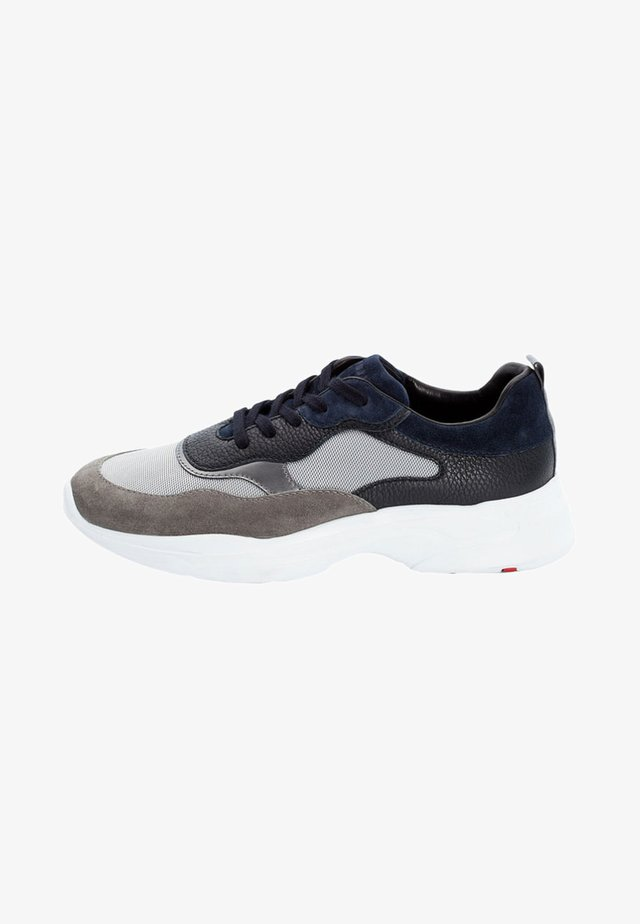 ACTON - Sneakers basse - grey/silbe