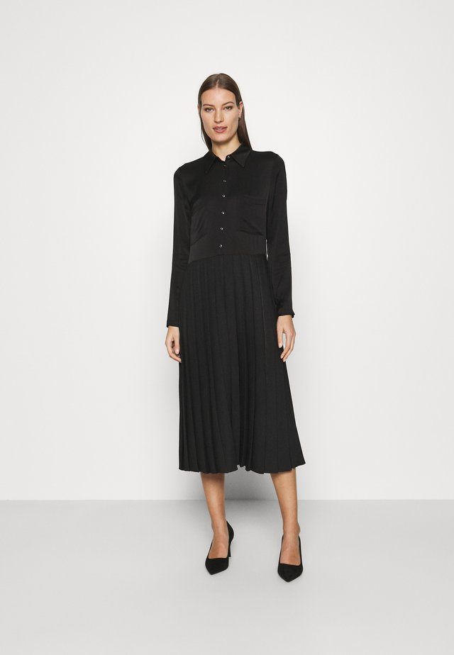 FAWN CASSIE DRESS - Shirt dress - black