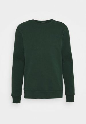 THROW C NECK - Sweatshirt - hunter green