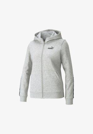 Zip-up sweatshirt - light gray heather