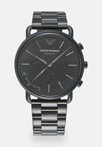 Emporio Armani Connected - AVIATOR CONNECTED - Chronograaf - black - 0