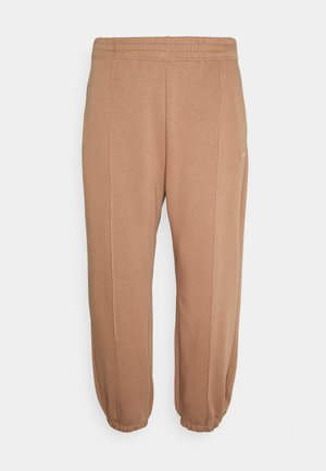 Tracksuit bottoms - archaeo brown/white