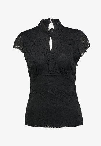 TOP - Blouse - noir