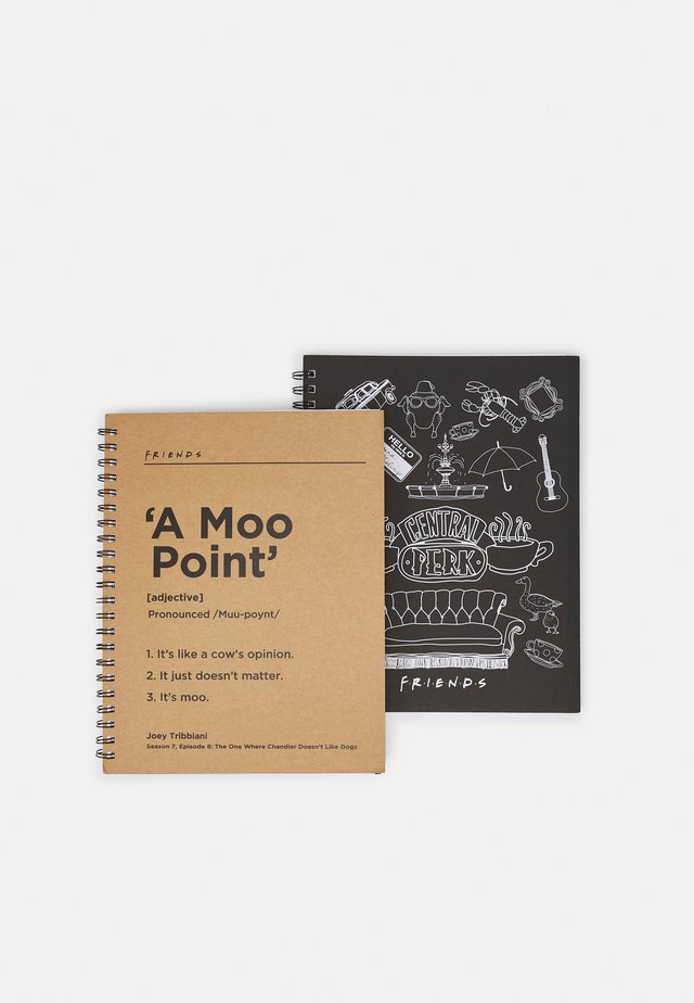 A4 CAMPUS NOTEBOOK 2 PACK UNISEX - Other accessories - multicoloured