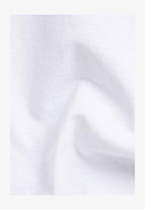 BOXY BASE R T UNISEX - T-shirt print - white