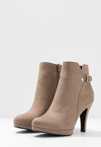 Anna Field - High heeled ankle boots - taupe - 3