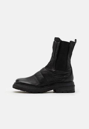 Botas con plataforma - nero
