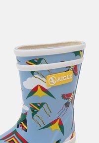 Aigle - FLAC THEME UNISEX - Bottes en caoutchouc - light blue - 6