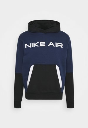 AIR HOODIE - Jersey con capucha - midnight navy/black