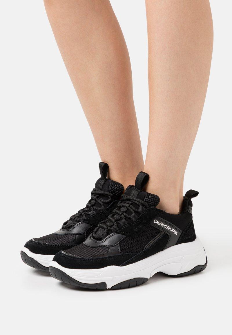 Calvin Klein Jeans - MAYA - Sneakersy niskie - black