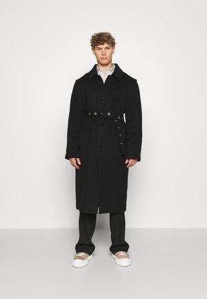ADLER COAT - Klasický kabát - black