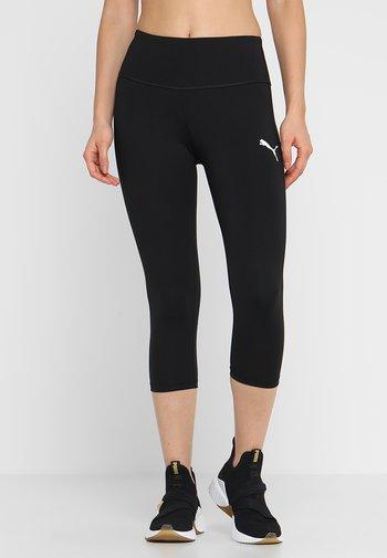 ACTIVE  - 3/4 sportovní kalhoty - puma black