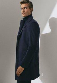 Massimo Dutti - Short coat - dark blue - 3