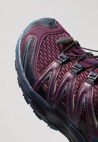 Salomon - XA PRO 3D - Trail running shoes - potent purple/navy blazer/bluestone - 5