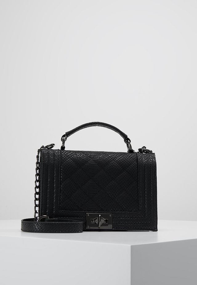 MIA BAG - Umhängetasche - mottled black