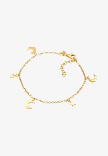 STAR ASTRO HALF MOON - Bracelet - gold