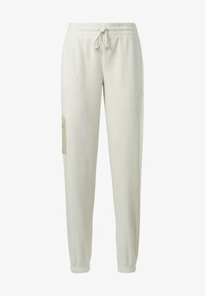 CLASSICS WINTER ESCAPE TRACKSUIT BOTTOMS - Pantaloni sportivi - white