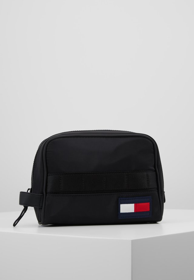 TOMMY WASHBAG - Trousse de toilette - black