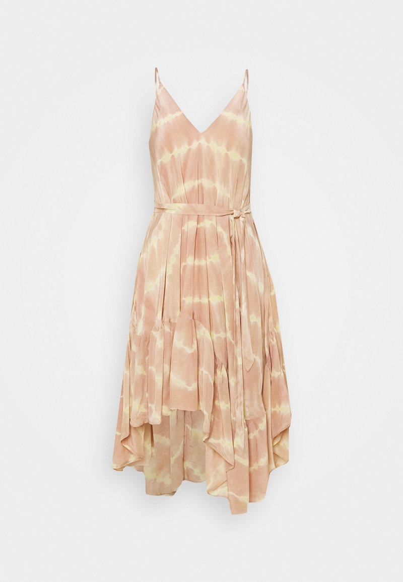 maje - RISOTYE - Korte jurk - nude
