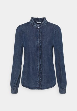 BYISELLE - Button-down blouse - ligth blue denim