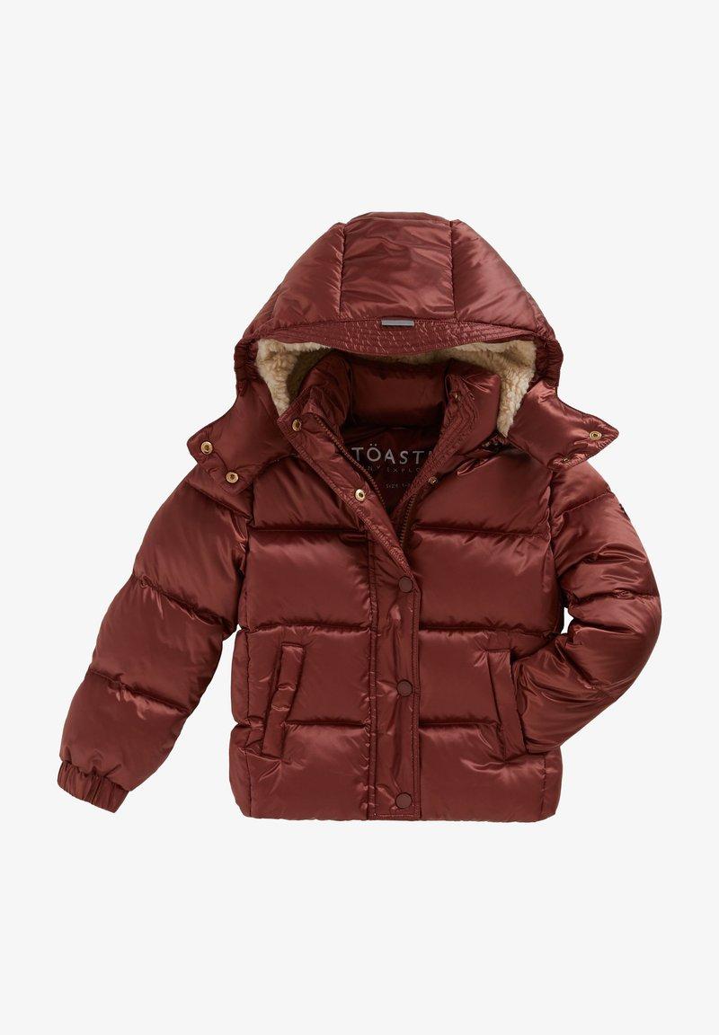 Töastie - LUNAR PUFFERJACKET - Down jacket - copper