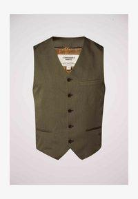 MDB IMPECCABLE - Suit waistcoat - khaki - 3