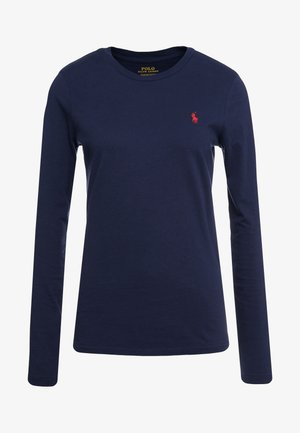 Topper langermet - cruise navy