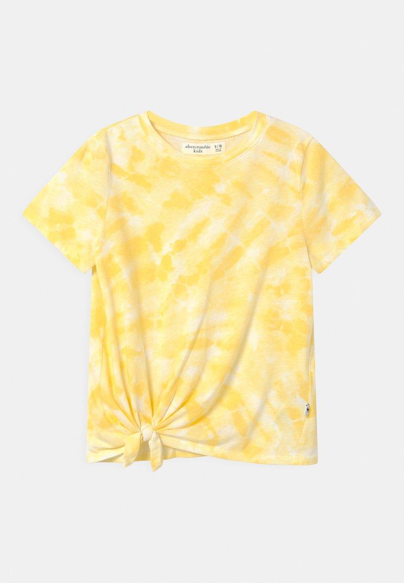 Abercrombie & Fitch - Triko spotiskem - yellow
