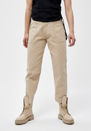 ELLA PANTS - Pantaloni - oyster gray
