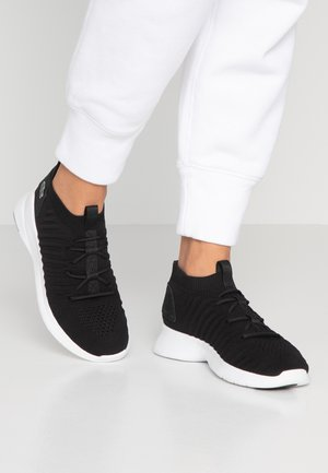 LIGHT FIT FLEX  - High-top trainers - black/white