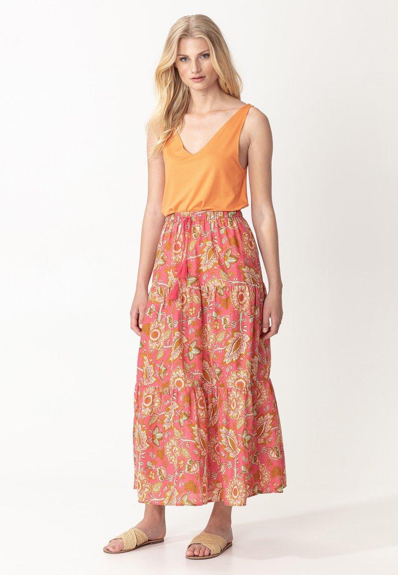 Indiska - ZOE - A-line skirt - pink