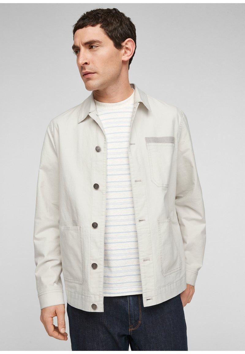 s.Oliver - Summer jacket - beige