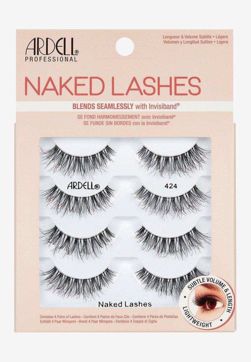 Ardell - NAKED LASHES 4 PACK - False eyelashes - 424