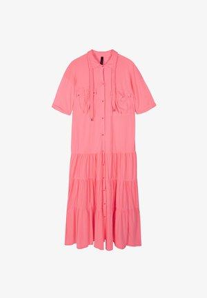 Maxi dress - fluor peach