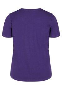 Zizzi - Basic T-shirt - purple - 5