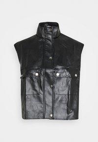 Missguided - GILET - Waistcoat - black - 5