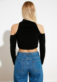 Trendyol - Long sleeved top - black - 1